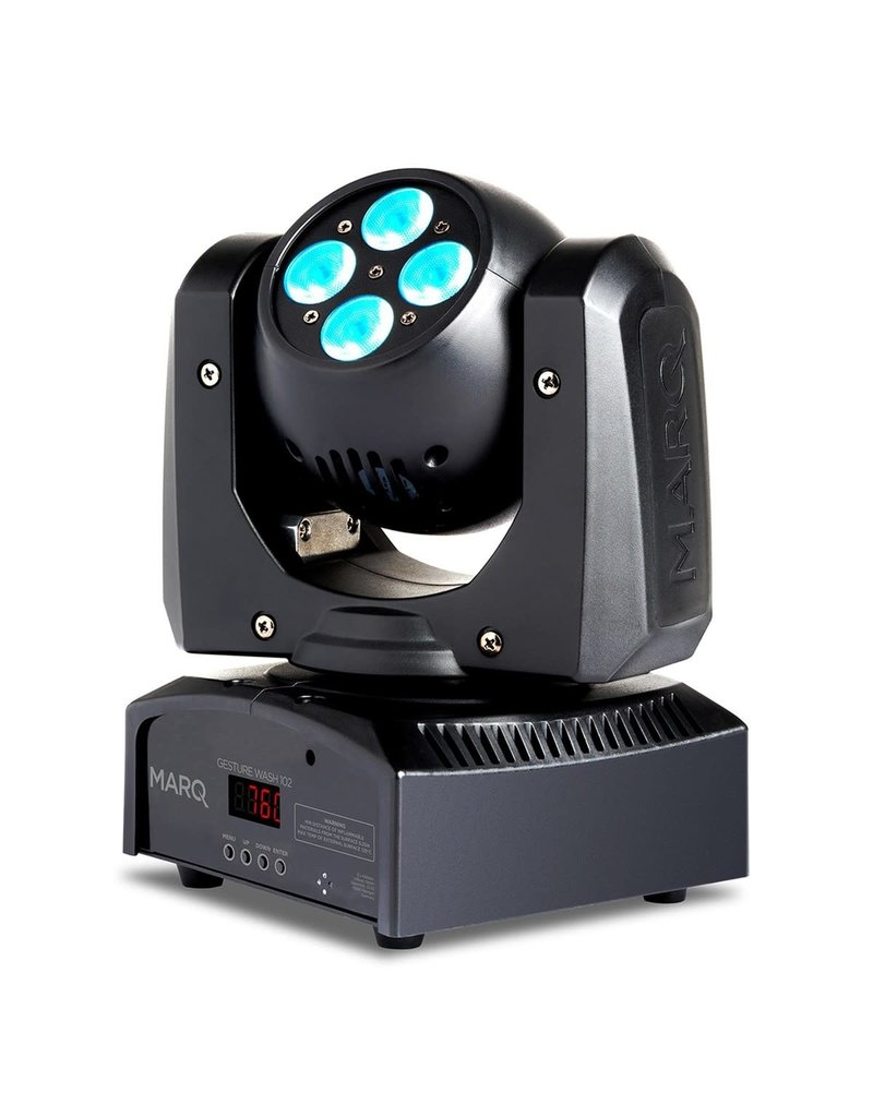 Gesture 102   2-Sided Moving Head Wash: Marq Lighting