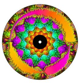 "FRACTALS Visual Vinyl Vol. 1: 7"" Scratch Record"