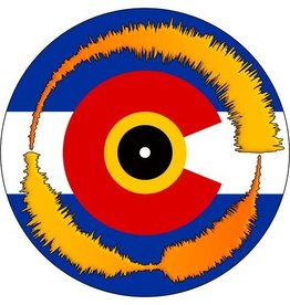 "COLORADO FLAG Visual Vinyl Vol. 1: 7"" Scratch Record"