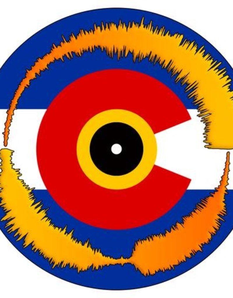 """COLORADO FLAG Visual Vinyl Vol. 1: 7"""" Scratch Record"""