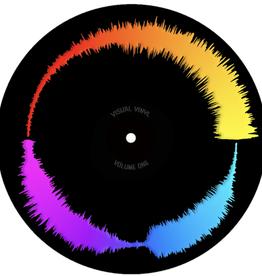 """BLACK Visual Vinyl Vol. 1: 7"""" Scratch Record"""