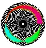 "TRIPPY SPIRAL Visual Vinyl Vol. 1: 7"" Scratch Record"