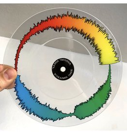 "CLEAR VISUAL VINYL 7"" SCRATCH RECORD"
