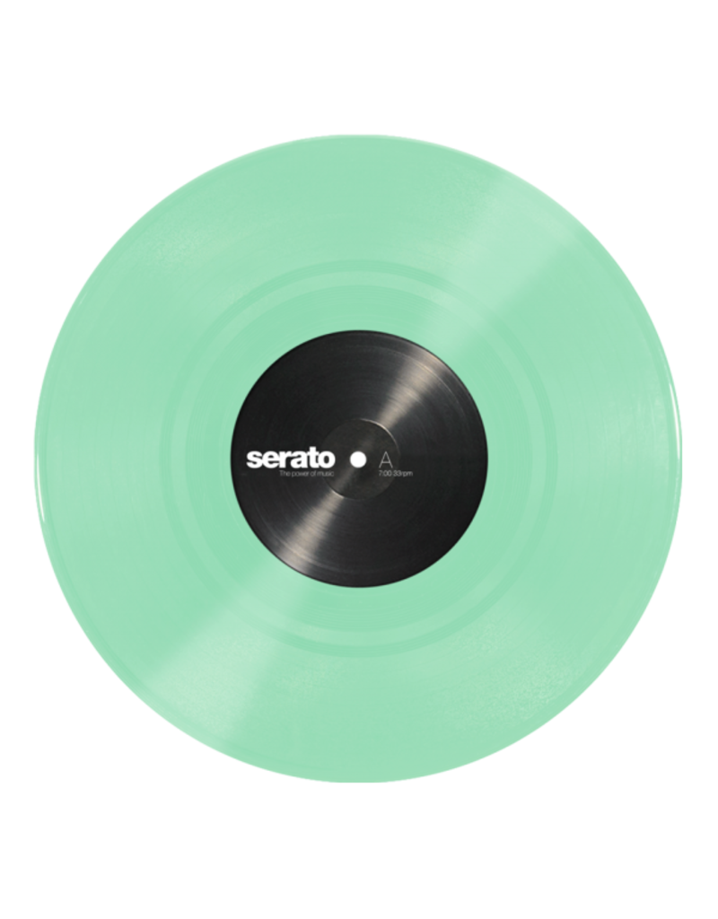 "10"" Glow in the Dark Serato Control Vinyl (Pair)"