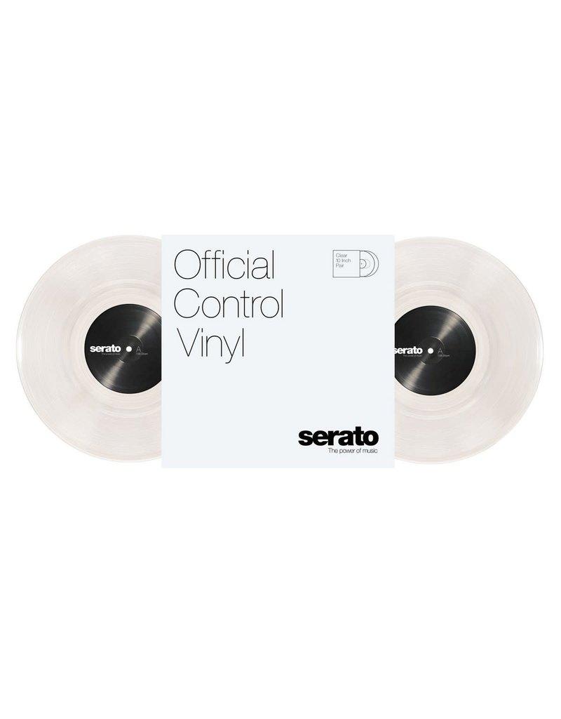 "10"" Clear Serato Control Vinyl (Pair)"