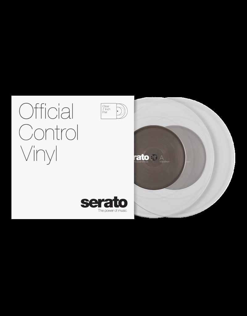 "7"" Clear Serato Control Vinyl Pair (Pair)"