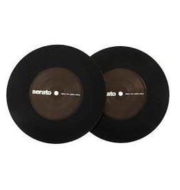 """7"""" Black Serato Control Vinyl Pair (Pair)"""