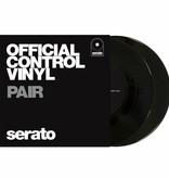 """7"""" Black Serato Control Vinyl (Pair)"""
