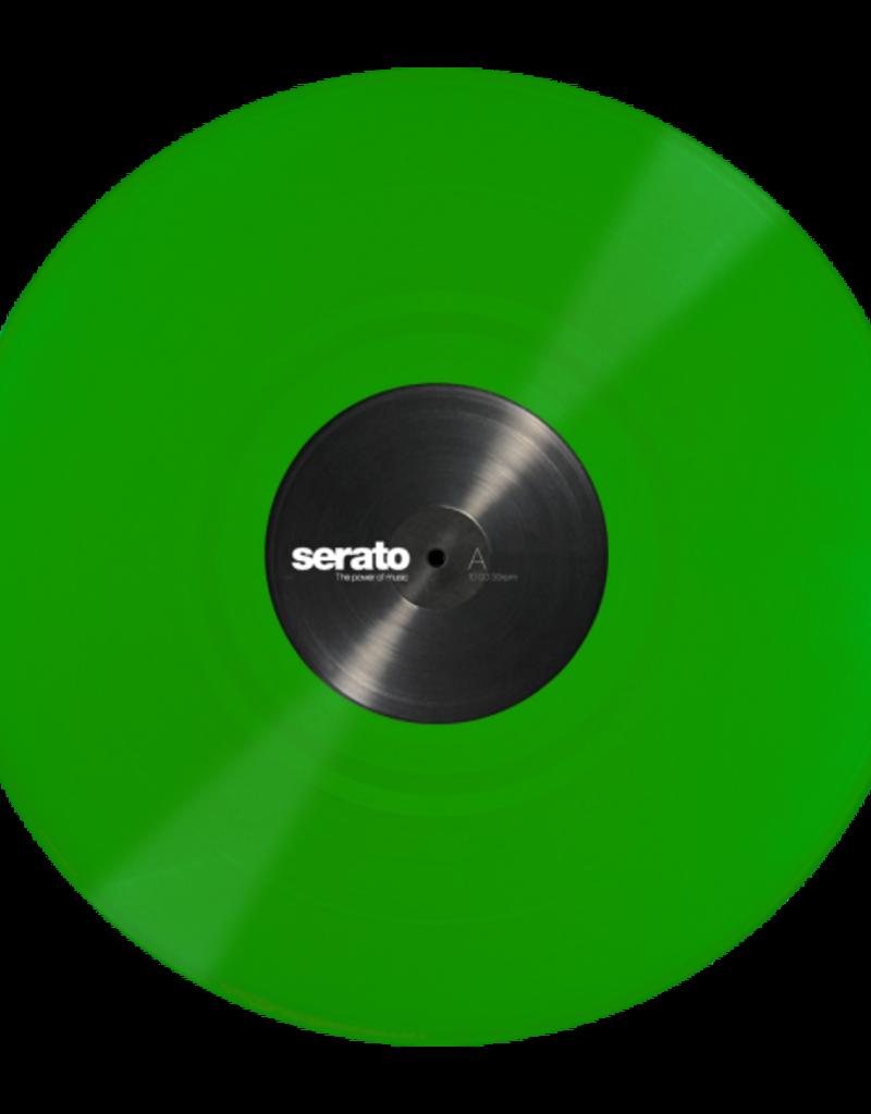 "12"" Green Serato Control Vinyl Pair (Pair)"