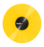"12"" Yellow Serato Control Vinyl (Pair)"