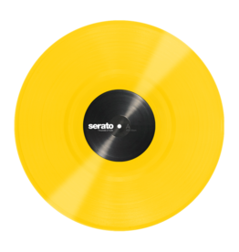 "12"" Yellow Serato Control Vinyl (Pair)"