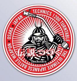 Technics Samurai DJ Slipmats (Pair)