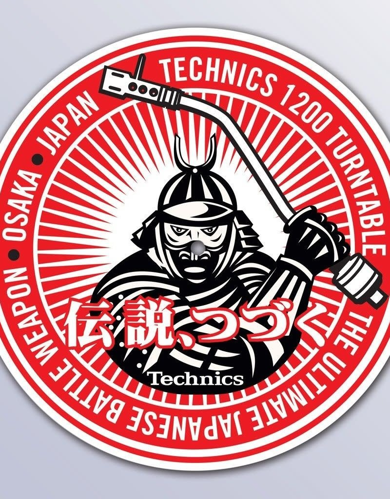 Technics Samurai DJ Slipmats (Pair)