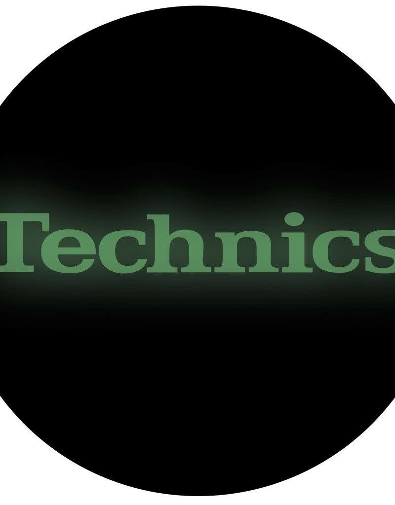 Technics Glow in the Dark Logo Slipmats (Pair)