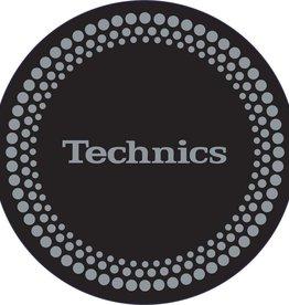 Technics Silver Dots Slipmats (Pair)