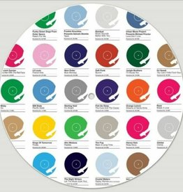 DMC Universal Colours of House Slipmats (pair)