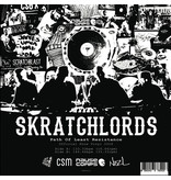 "Path of Least Resistance: ScratchLords 12"" Red Vinyl Scratch Record: Cut & Paste"