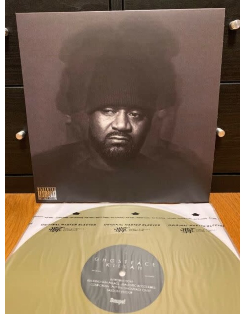 Ghostface - Killah The Lost Tapes Gold LP