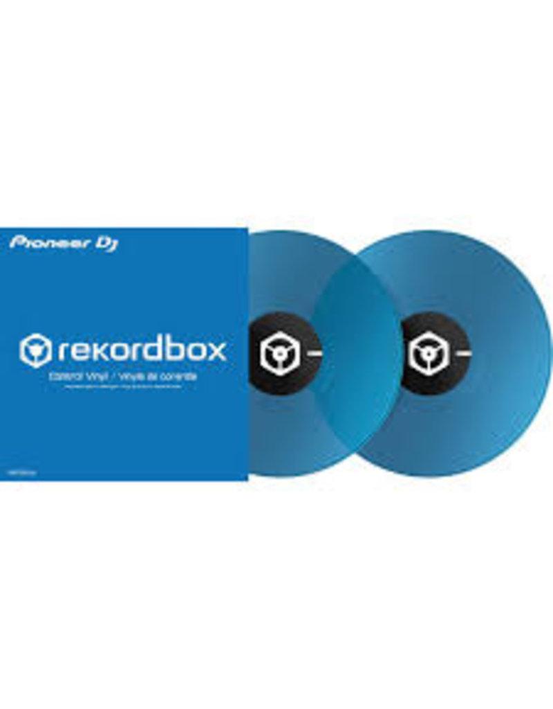 """12"""" Blue Pioneer Rekordbox Control Vinyl (Pair)"""