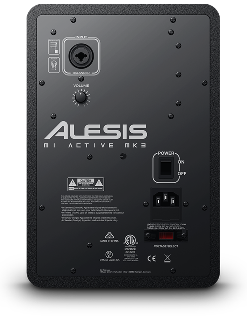 "Alesis M1Active Mk3 Premium 5"" Active Studio Monitor (Single)"