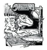 Skratch Fossils 7inch  DJ Moschops Scratch Samples