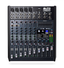 ***Pre Order*** Alto Live 802 Professional 8-Channel/2-Bus Mixer