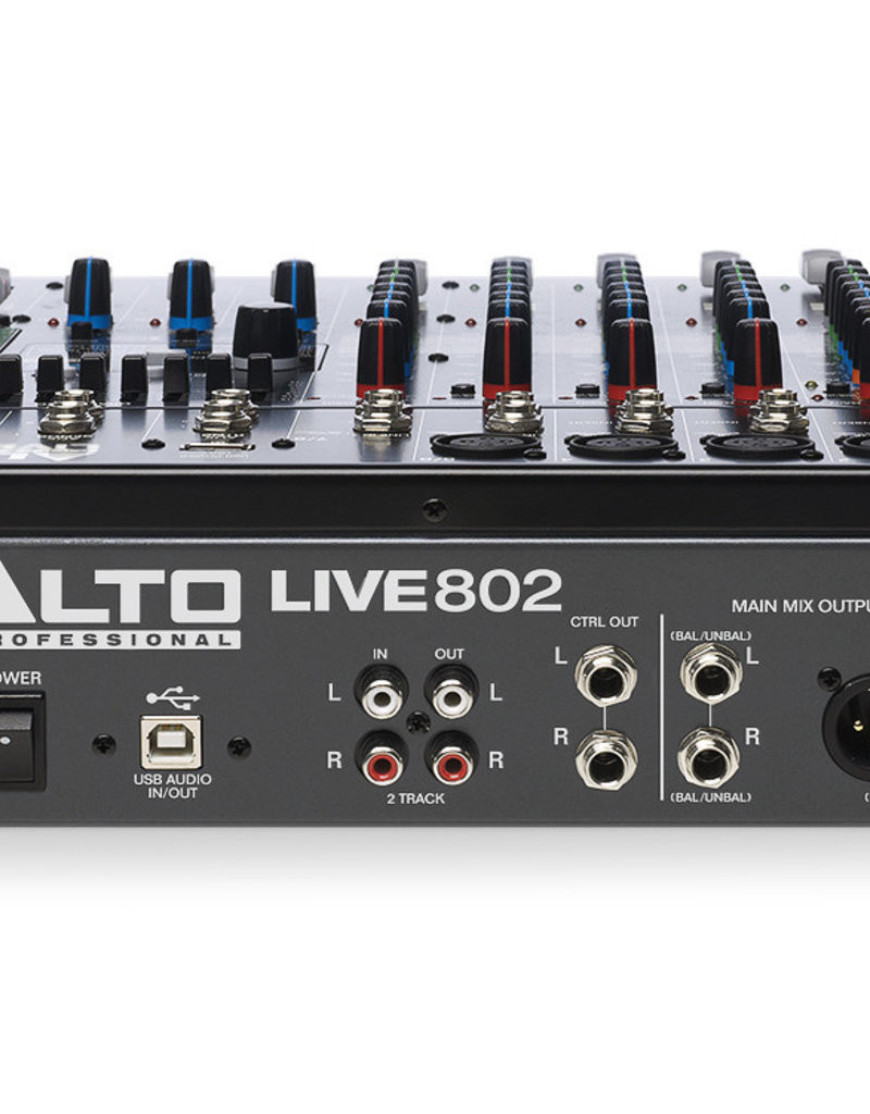 Alto Live 802 Professional 8-Channel/2-Bus Mixer