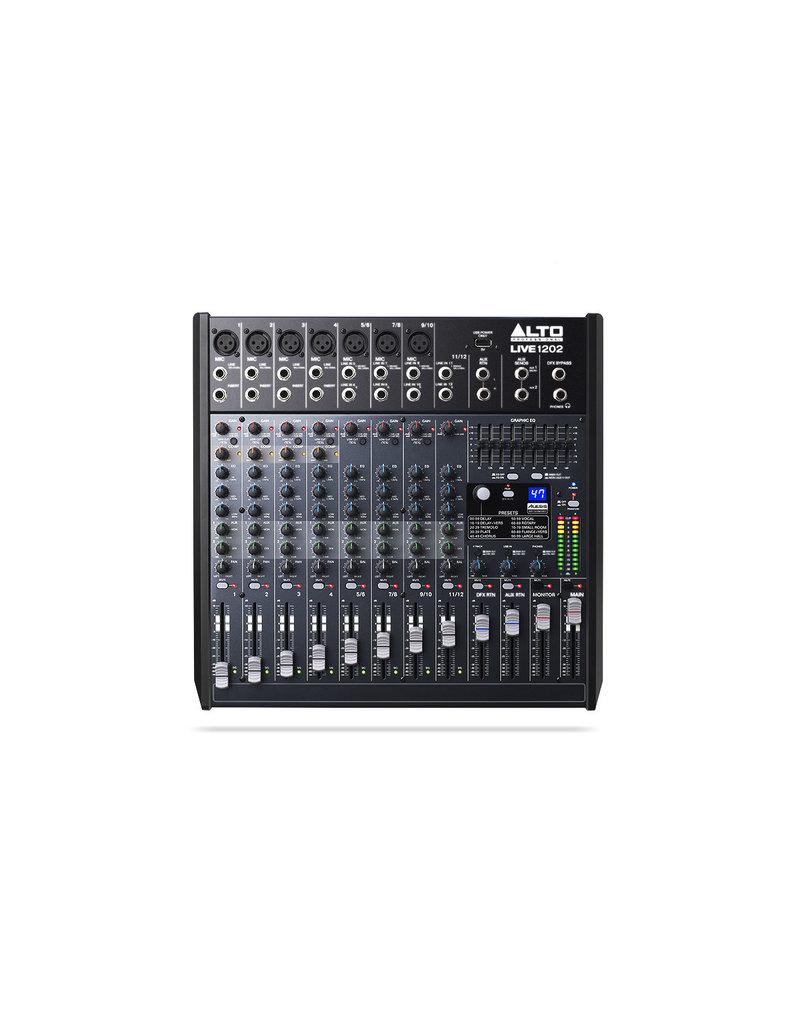 Alto Live 1202 Professional 12-Channel/2-Bus Mixer