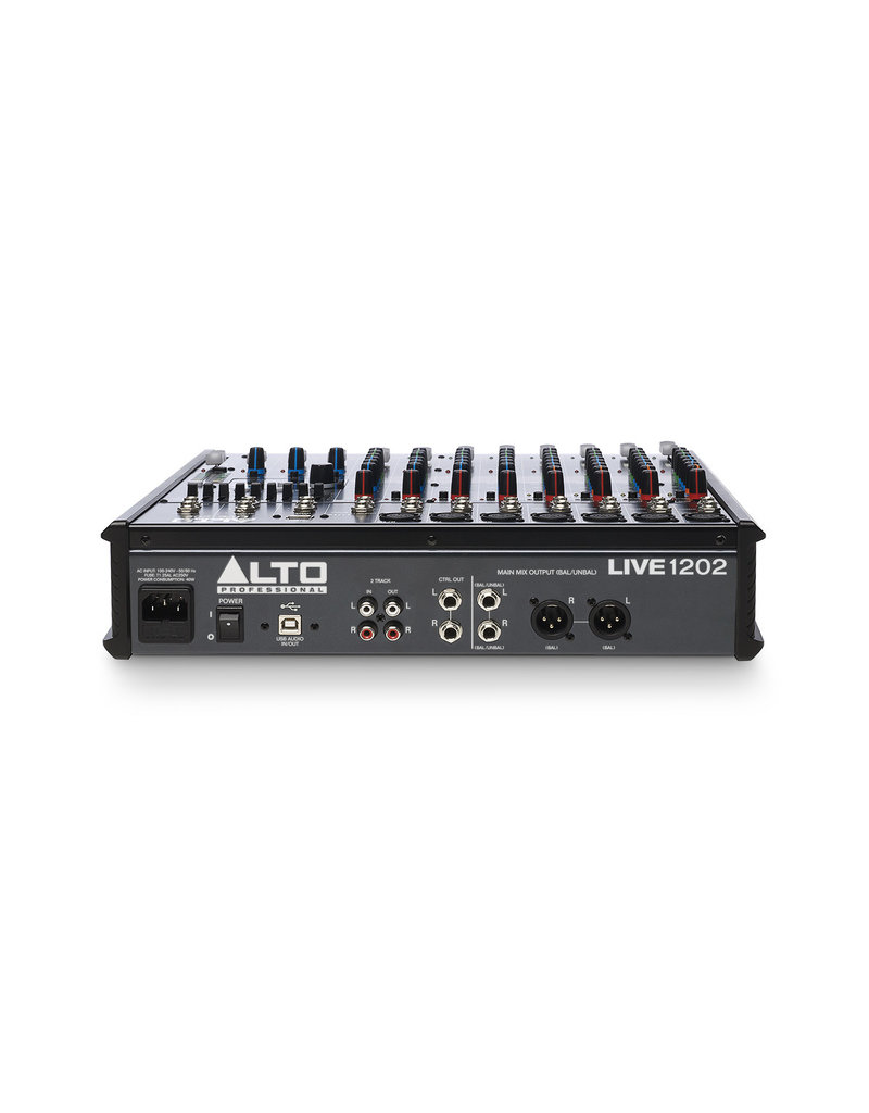 ***Limited Stock Shipping Mid July*** Alto Live 1202 Professional 12-Channel/2-Bus Mixer