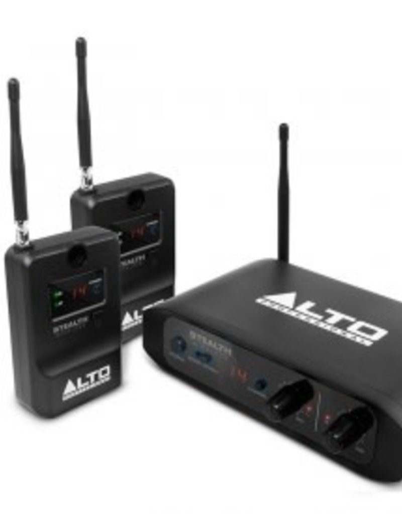Alto Stealth Stereo Wireless System for Active Loudspeakers