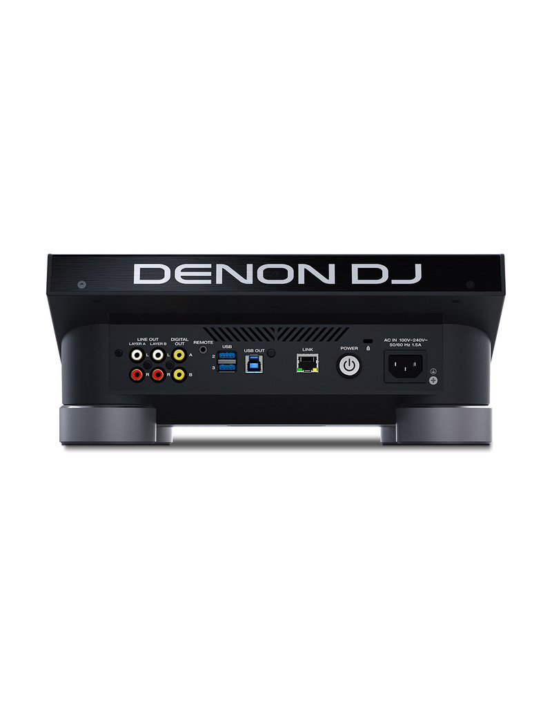 "Denon DJ SC5000 Prime Media Controller | Engine Media Player w/ 7"" Multi-Touch Display"