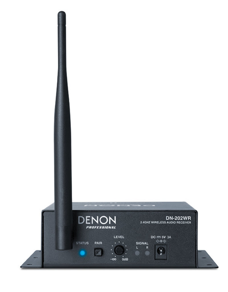 Denon DN-202WR Wireless Audio Receiver (for use with DN-202WT)