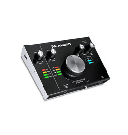 M-Track 2x2 2-in/2-out USB Audio Interface w/ single mic - M-Audio