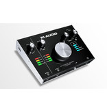 M-Track 2x2M 2-in/2-out USB/MIDI Interface - M-Audio
