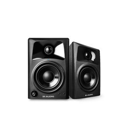 AV32 Compact Desktop Speakers (Pair) - M-Audio