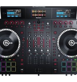 NS7III 4 Channel Motorized DJ Controller w/ Screens - Numark