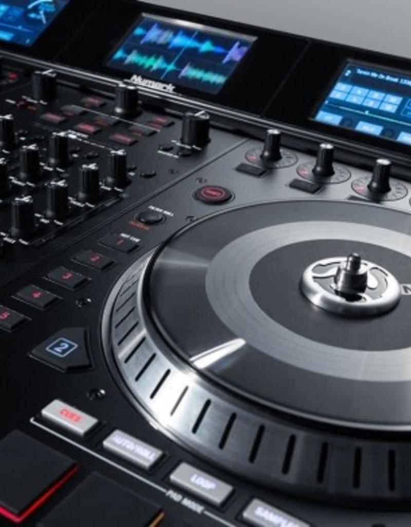 NS7III 4 Channel Motorized DJ Controller w/ Screens - Numark