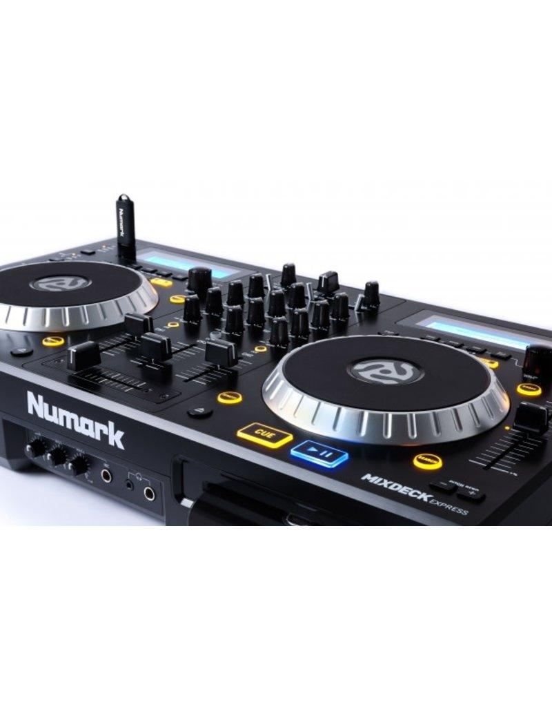 Numark Mixdeck Express  Premium DJ Controller with CD and USB Playback