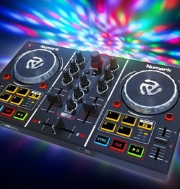 ***Pre-Order*** Party Mix DJ Controller with Built In Light Show - Numark