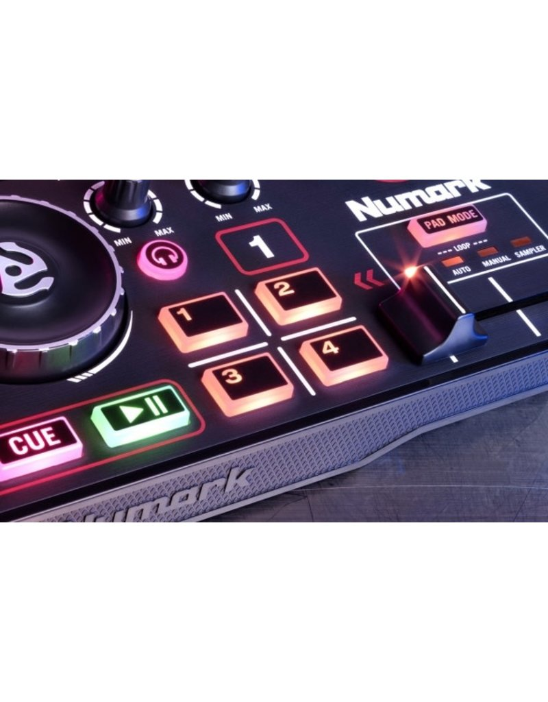 DJ2GO2 Pocket DJ Controller with Audio Interface - Numark