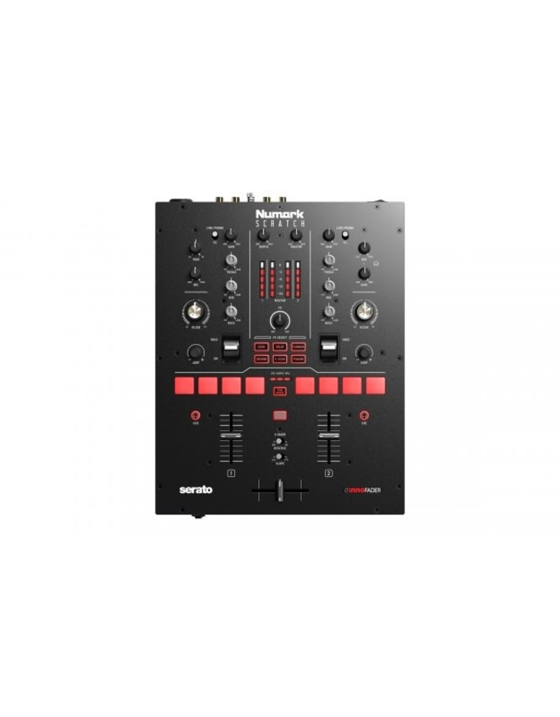 Numark Scratch 2-Channel Serato Mixer w/ 2 FREE Visual Vinyl ($50.00 Value)