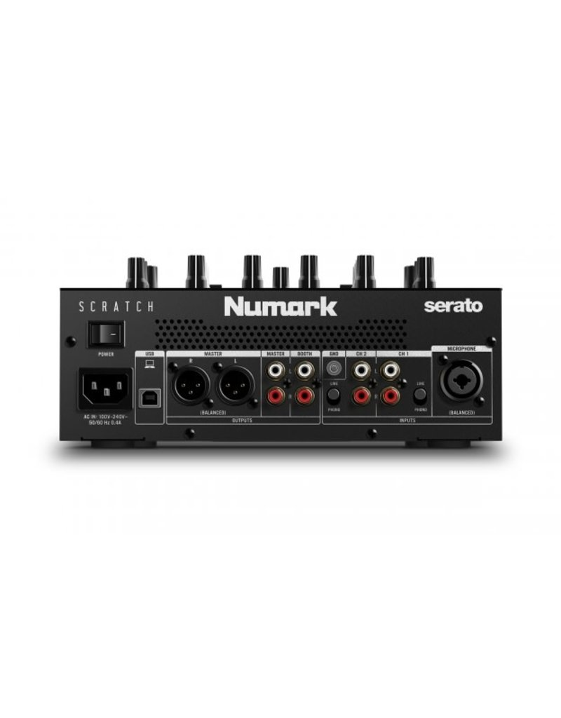Scratch 2-Channel Serato Mixer - Numark w/ FREE 2x Visual Vinyl