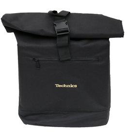 Technics Roll Top Back Pack - Gold Logo