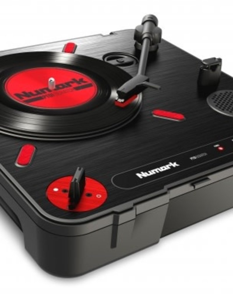 PT01 Scratch Portable Turntable with DJ Scratch Switch - Numark