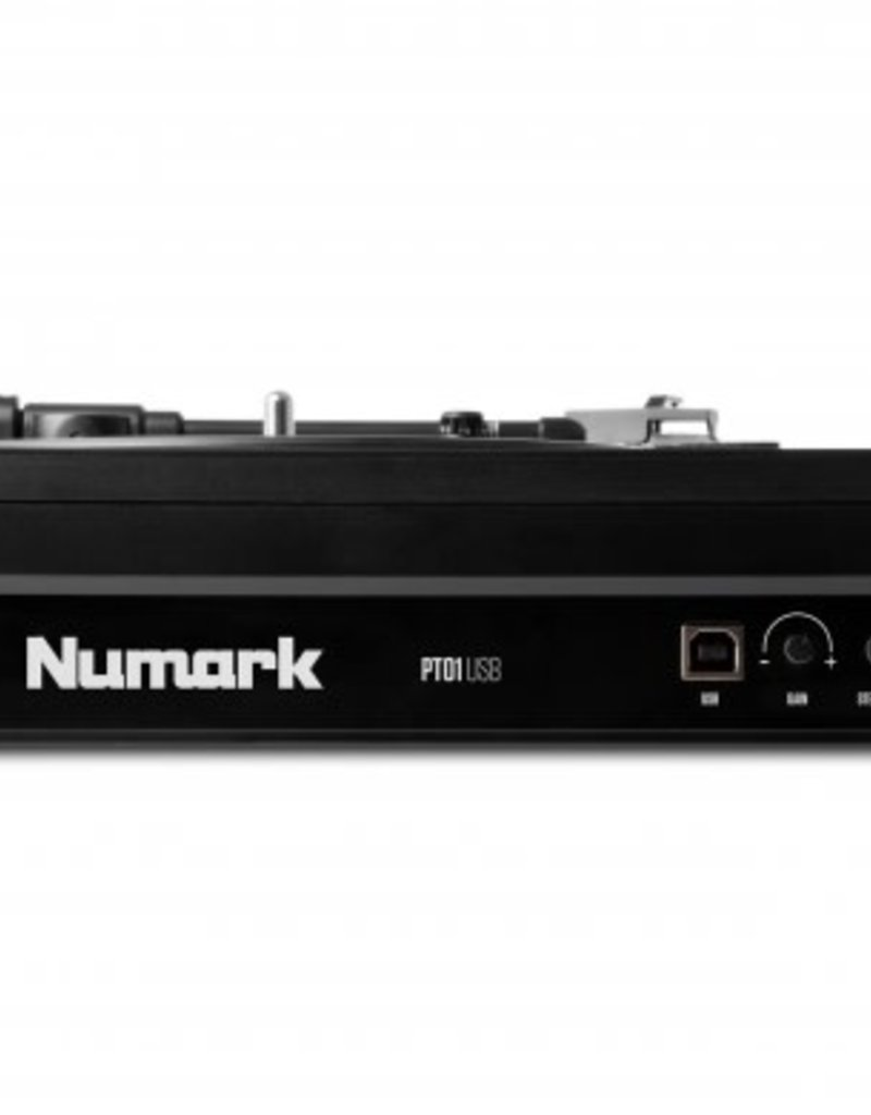 PT01 USB Portable Vinyl-Archiving Turntable - Numark