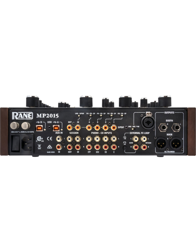 MP2015 Rotary Mixer - Rane