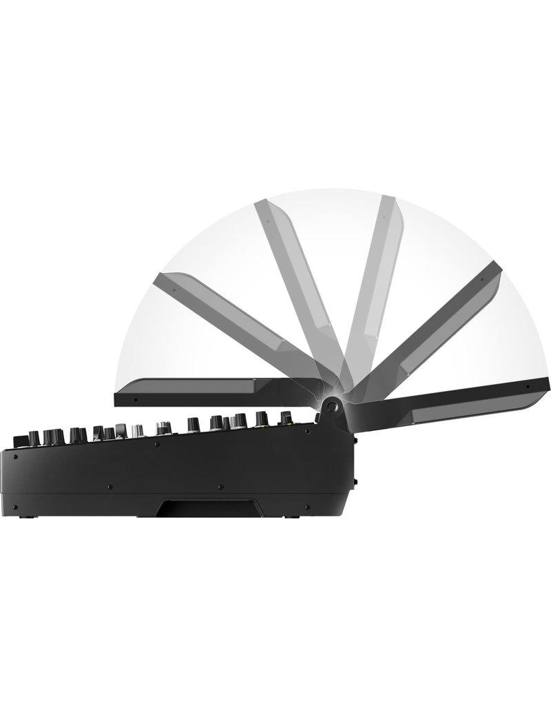 "DJM-TOUR1 Touring Model Mixer w/ Folding 13"" Touchscreen and Display Shade - Pioneer DJ"