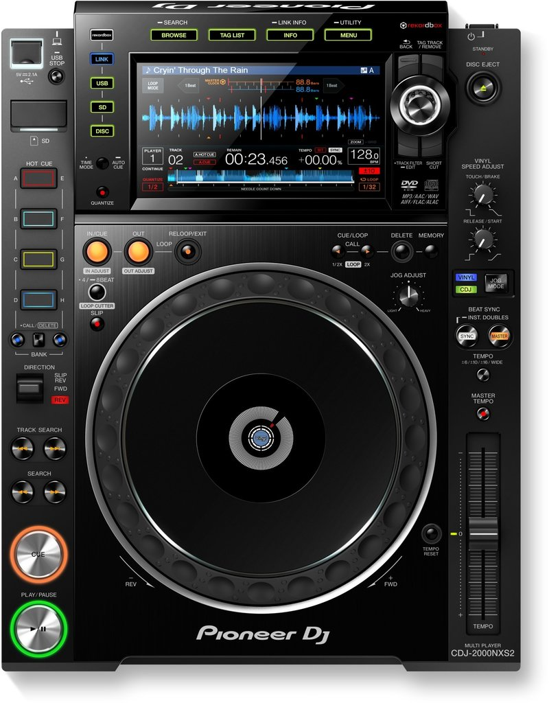 ***Limited Stock Shipping Early July*** CDJ-2000NXS2 Professional Multi-Player - Pioneer DJ