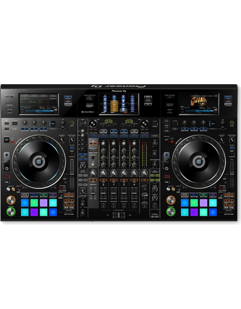 DDJ-RZX Professional 4-Channel Rekordbox DJ/VJ Controller - Pioneer DJ