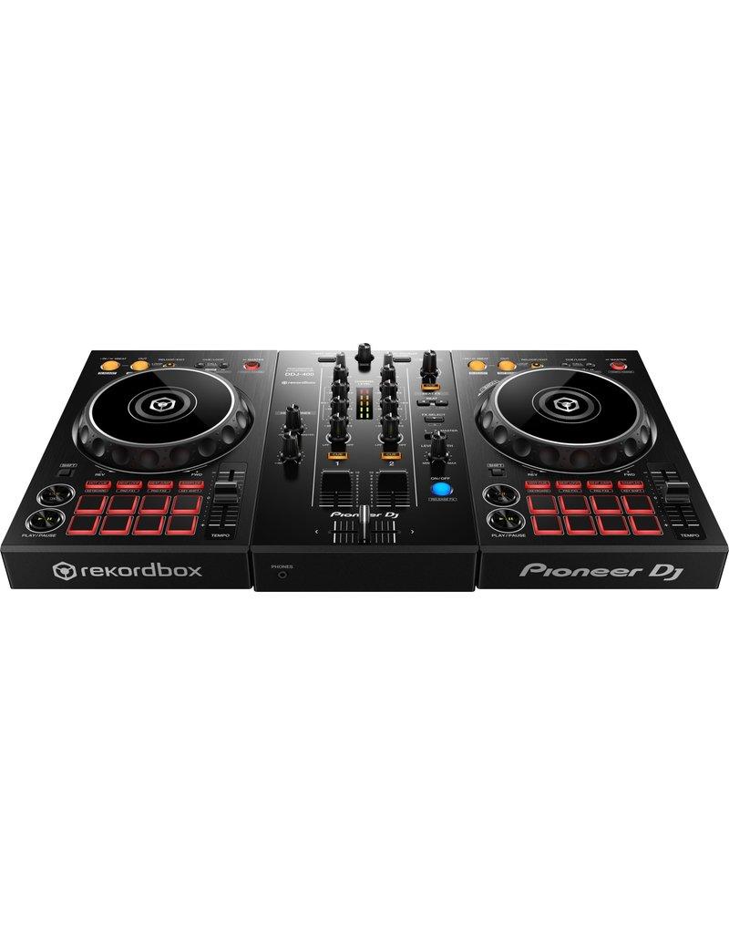 ***Limited Stock Shipping Mid July*** DDJ-400 2-Channel DJ Controller for Rekordbox DJ (Black) - Pioneer DJ